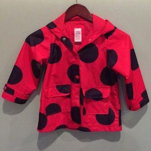 🐞CARTER'S Ladybug Raincoat